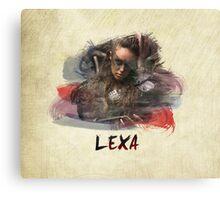 Lexa - The 100 -1 Canvas Print