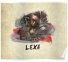 Lexa - The 100 -1 Poster