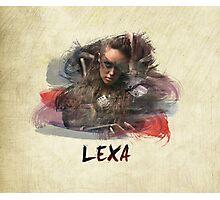 Lexa - The 100 -1 Photographic Print
