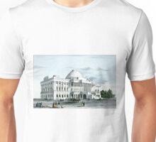 Capitol at Washington - 1856 - Currier & Ives Unisex T-Shirt
