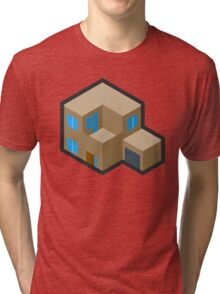 Isocity Game House/Home Tri-blend T-Shirt