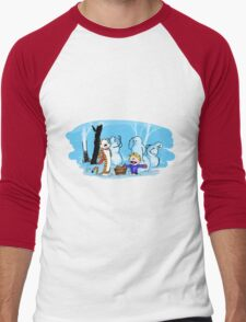 calvin and hobbes blue snow T-Shirt