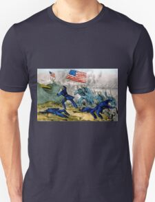 Capture of Roanoke Island - 1862 - Currier & Ives Unisex T-Shirt
