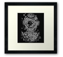 Dead Diver Framed Print