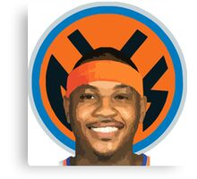CARMELO ANTHONY THE REAL KNICKS Canvas Print