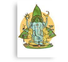 Ganesha Canvas Print