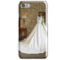 Wedding dress iPhone Case/Skin