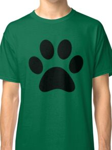 Dog Paw Silhouette Classic T-Shirt