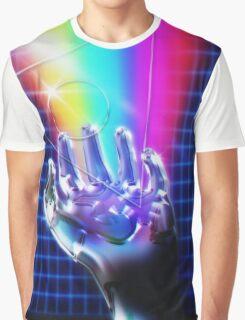 Chrome hand Graphic T-Shirt