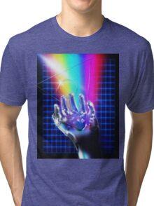 Chrome hand Tri-blend T-Shirt