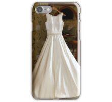 Brides wedding dress iPhone Case/Skin