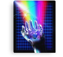 Chrome hand Canvas Print
