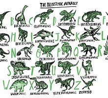The Prehistoric Alphabet by sophieheywood
