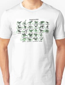 The Prehistoric Alphabet T-Shirt