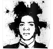 Basquiat B&W Poster