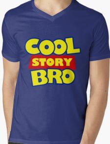 Cool Story Bro T-Shirt Mens V-Neck T-Shirt