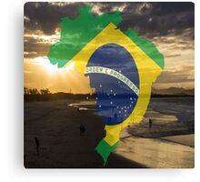 Brazil sea Canvas Print
