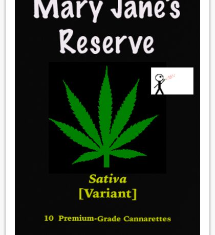 Mary Jane's Reserve - Sativa Sticker