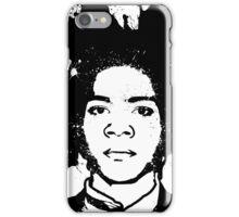 Basquiat B&W iPhone Case/Skin