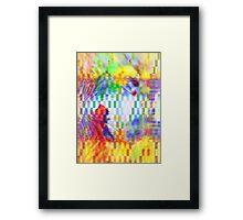 rectangles II Framed Print