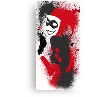 brush Harley Quinn brush Canvas Print