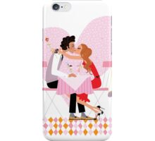 kissing couple iPhone Case/Skin