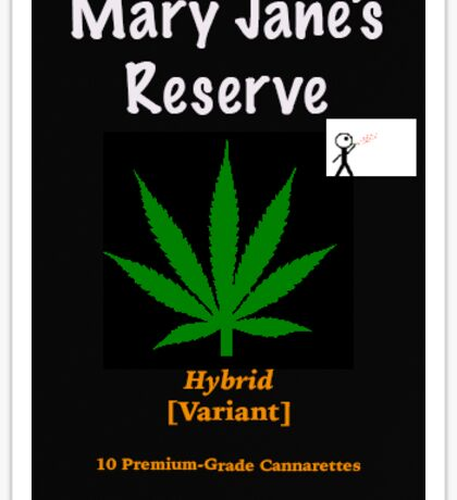 Mary Jane's Reserve - Hybrid Sticker