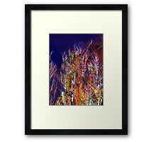 wiggling and whirring outback Framed Print
