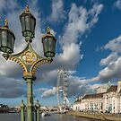 Lanterns on Westminster by Adrian Evans