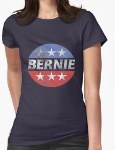 Vintage Bernie 2016  Womens Fitted T-Shirt