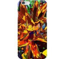 floral technique iPhone Case/Skin
