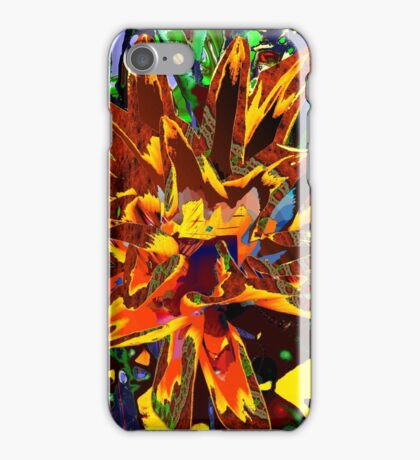 floral technique iPhone Case/Skin