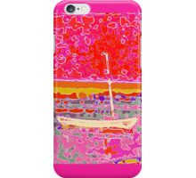 Boat on the Water - Abstract iPhone Case/Skin