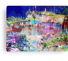 harbour lights Canvas Print