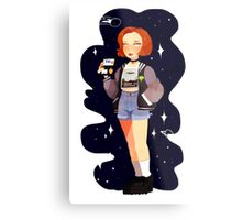 Super 90's Scully unlocked Metal Print