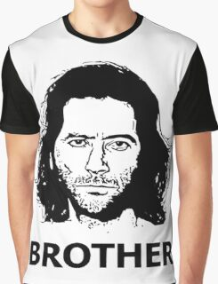 Lost- Desmond brother Graphic T-Shirt