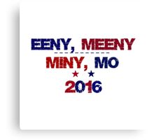 Funny Undecided 2016 Election Canvas Print