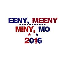 Funny Undecided 2016 Election Photographic Print