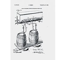 Art Of Brewing Beer Patent Photographic Print