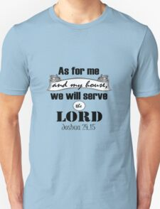 As for Me and my House Bible Verse T-Shirt
