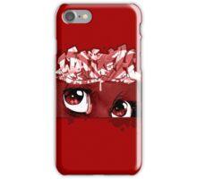 Graffiti WATCH (red) iPhone Case/Skin