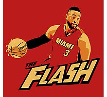 "Dwyane ""The Flash"" Wade Photographic Print"