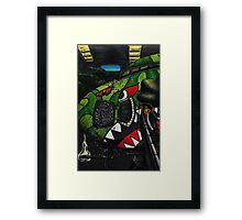 Shark Squadron Framed Print