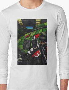 Shark Squadron Long Sleeve T-Shirt