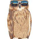Shady Owl by Tabita Harvey