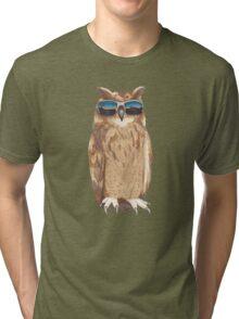 Shady Owl Tri-blend T-Shirt
