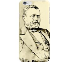 President of the United States of America Ulysses Grant iPhone Case/Skin