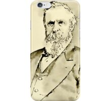 President of the United States of America Rutherford Hayes iPhone Case/Skin