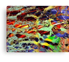 some birch color pattern Canvas Print