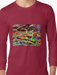 some birch color pattern Long Sleeve T-Shirt